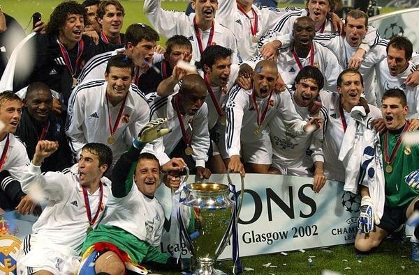 Qui perd la finale 2002 contre le Real Madrid ?