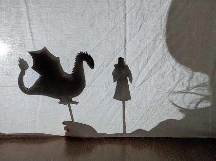 Quais os princípios técnicos que envolvem o Teatro de sombras?