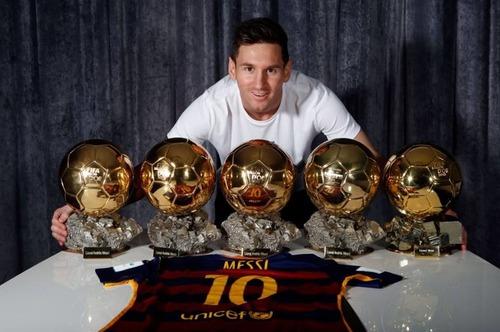 Quel joueur n'a pas gagné le ballon d'or au moins 3 fois ?