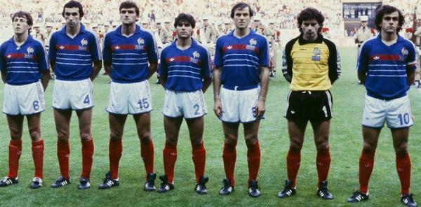 En 1984, l'équipe de France a remporté tous ses matchs sur l'année civile.