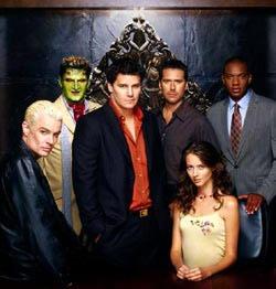 Parmi ces personnages lequel est toujours vivant au début du dernier épisode de la série Angel ?