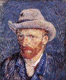 """Qui a peint cet """"autoportrait au chapeau de feutre"""" ?"""