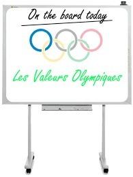 Cherchez l'intrus, les trois valeurs de l'olympisme sont :