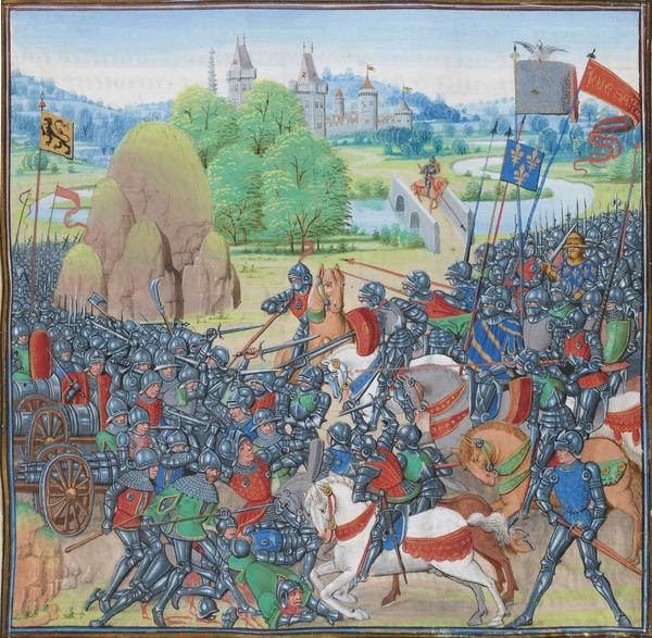 En quelle année a eu lieu la bataille de Roosebeke ?