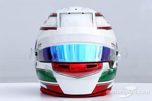 (Bonus Frage 1) Welchem Fahrer gehört dieser Helm ?