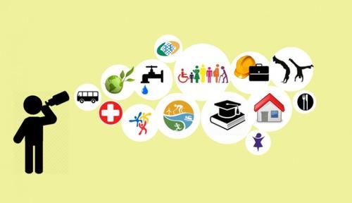 Qual o nome das políticas públicas que devem alcançar o bem-estar geral da população ?
