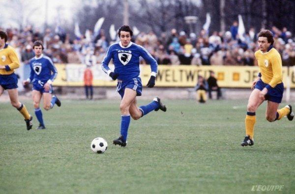 Quel club a prété Jean-François Larios à Bastia lors de la saison 77/78 ?
