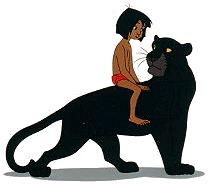 Comment s'appelle la panthère dans Le livre de la Jungle ?