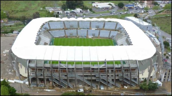 Où est situé le Stade Armand-Cesari ?