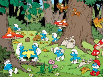 Où les Schtroumpfs ont-ils fait leur première apparition ?