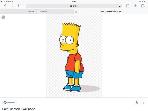 Comment s'appelle le fils Simpson ?