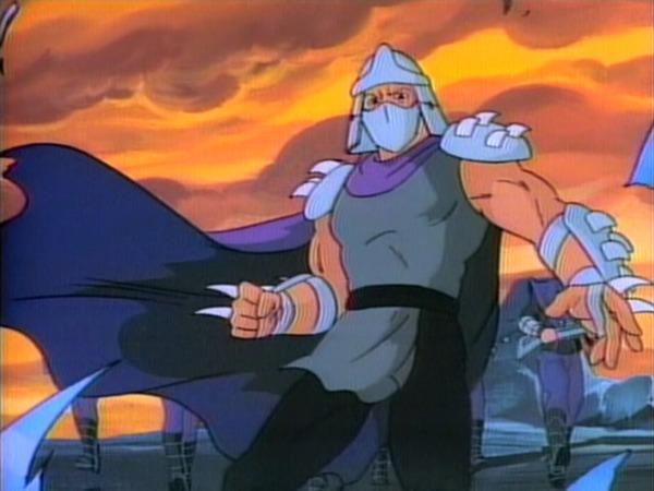 De qui Shredder est-il l'ennemi ?