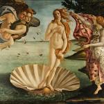 Quelle déesse est représentée sur cette peinture de Botticelli ?