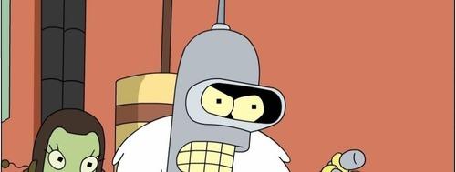 Comment s'appelle le robot de Futurama ?