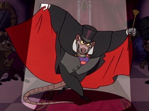 Dans quel dessin animé peut-on voir Ratigan ?