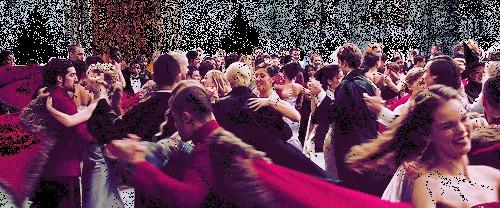 """No """"Cálice de Fogo"""" Harry vai ao baile de inverno com..."""