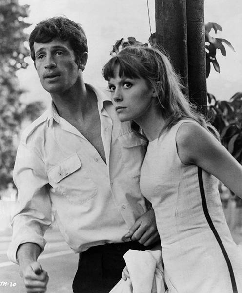 """En 1964, quelle est cette actrice qui joue à ses côtés dans """"l'Homme de Rio"""" ?"""