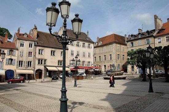 Dans quelle région se trouve la ville de Vesoul ?