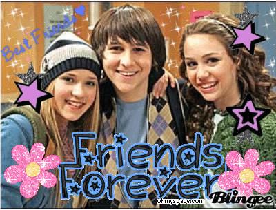 Comment s'appelle ces deux meilleur(e)s ami(e) dans la série ?
