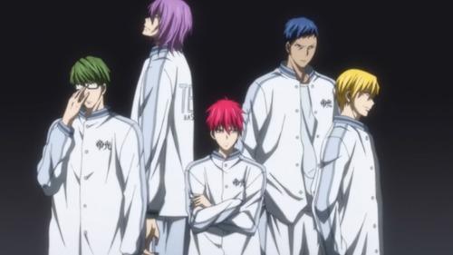Quel est le surnom qu'on donna à l'équipe du collège Teiko ?
