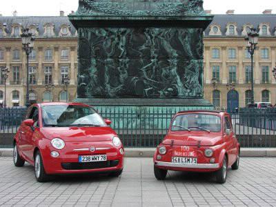 Laquelle de ces 2 Fiat est la plus ancienne ?