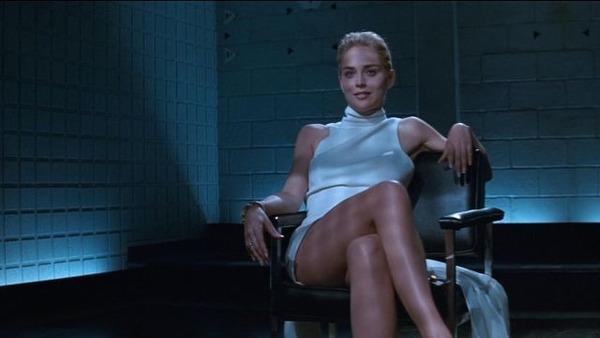 Basic Instinct : Sharon Stone y campe le rôle de...?