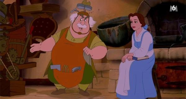 Dans La Belle et la Bête, comment s'appelle le père de Belle ?
