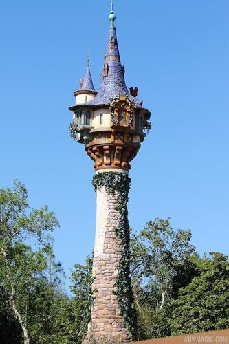 Par quel moyen Eugen arrive-t-il à monter la tour de Raiponce ?