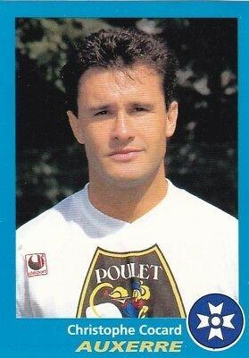 Christophe Cocard a été formé à Auxerre.
