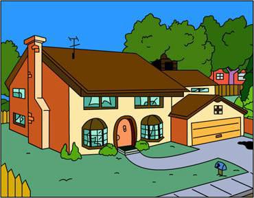 Pour finir, quelle est l'adresse exacte des Simpson ?