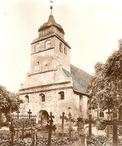Na zdjęciu przedstawiono kościół w...