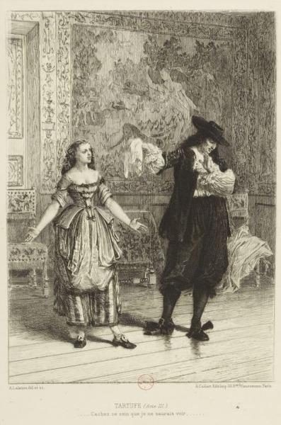 Le 12 mai 1664, à Versailles, Molière joue pour la première fois une pièce qui va faire scandale et être interdite. Laquelle ?