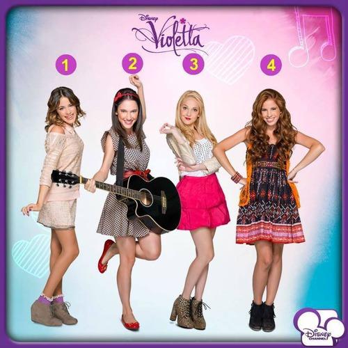 I početku sam bila ljubomorna na Violettu. A sada smo najbolje prijeteljice. Tko sam ?