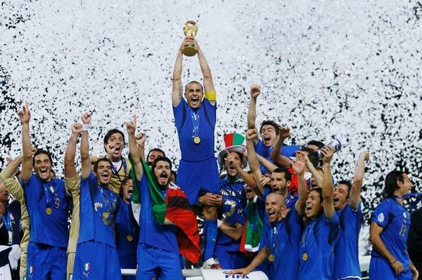 Mais l'Italie remportera le trophée suite à une victoire ....