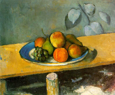 """Qui a peint cette nature morte """"pommes, pêches et poires"""" ?"""