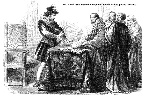 Quel roi promulgua l'édit de Nantes ?