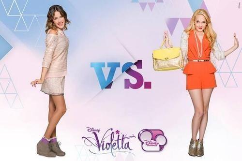 Violetta és Ludmilla igazából jó barátnők?