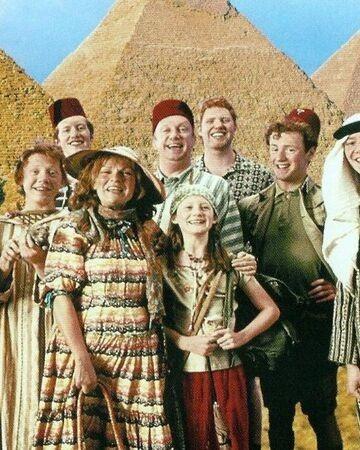 Dans la famille Weasley, combien d'enfants Arthur et Molly ont-ils en tout ?