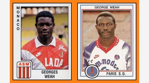 Avec quel club George Weah a-t-il dejà terminé meilleur buteur du championnat ?