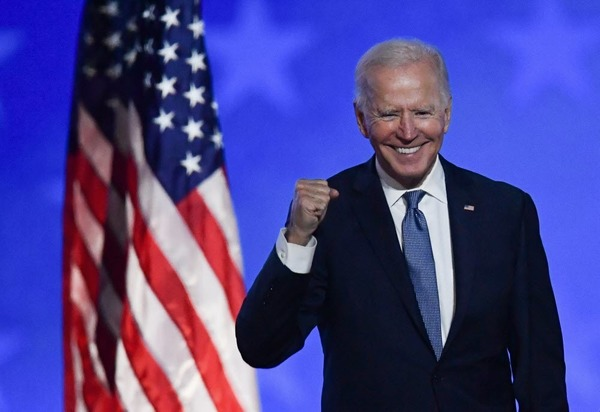 How old is the new President Joe Biden of the United States ?