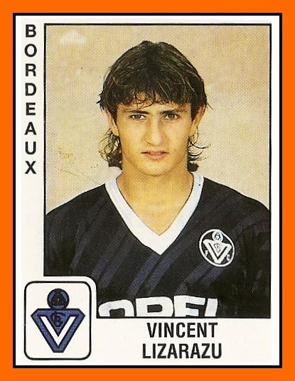 Lors de quelle saison Bixente Lizarazu a-t-il débuté sa carrière pro avec les Girondins ?