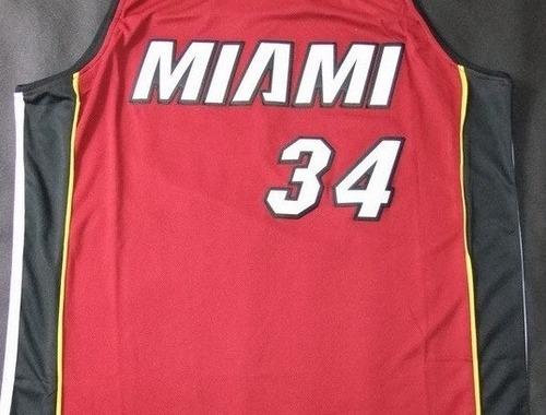 Qui est le numero 34 des Miami Heat ?