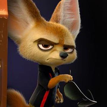Quel est le nom de ce personnage dans Zootopie ?