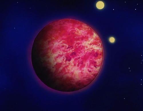 Quem destruiu o planeta dos Saiyajins?