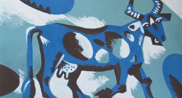 Vai esat dzirdējuši par zilajām govīm? Saskaņā ar leģendu tās paglāba līvu ciemu no bada, kas iestājās pēc kaujas ar vikingiem. Kā jums šķiet, no kurienes zilās govis uzradās pie cilvēkiem?