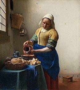 """Qui a peint le tableau célèbre """"la Laitière"""" ?"""