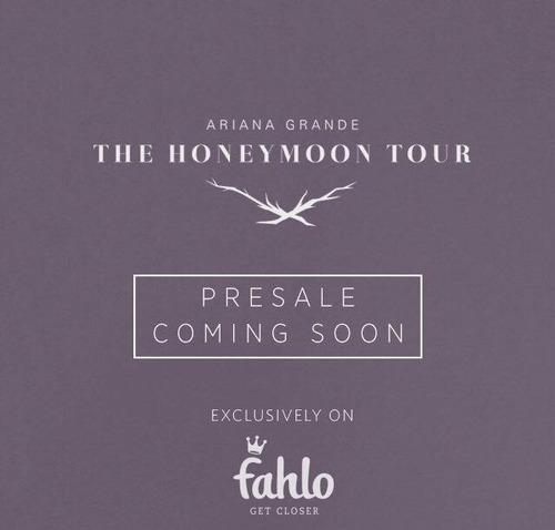 Elle est venue en France pour sa tournée mondiale,The Honeymoon tour. Quand ?