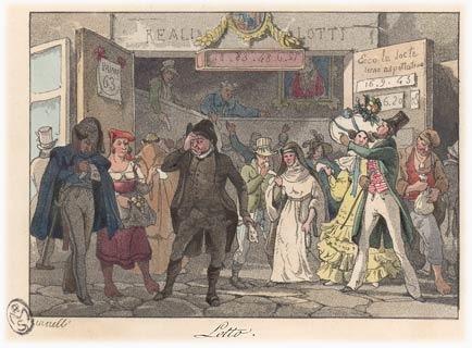 A quelle époque une loterie destinée aux particuliers a-t-elle été introduite en France ?