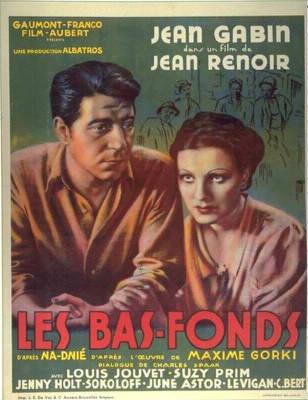 """En quelle année est sorti le film """" Les Bas - Fonds"""" ?"""