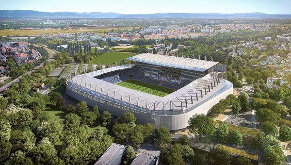 Il est un célèbre stade où évoluent les strasbourgeois, c'est ?